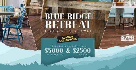 HGTV Lumber Liquidators Blue Ridge Retreat Flooring Giveaway