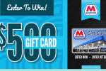 Marathon Gift Card Sweepstakes Chance To Win $500 Gift Card