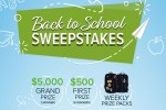 Back To School Scholarship Sweepstakes