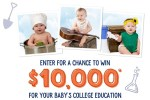 Stonyfield Farm Tiny Tummies Big Dreams Sweepstakes - Win $10000 Cash