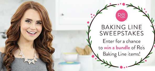 Wilton 2018 Happy Holidays Ro Baking Line Sweepstakes