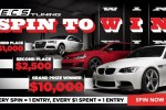 ECS Tuning Spin to Win Instant Win Game & Sweepstakes