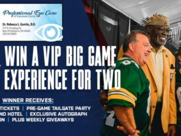 VIP Big Game Experience Sweepstakes