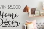 BHG Home Decor Sweepstakes