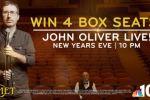 NBC Philadelphia John Oliver Sweepstakes
