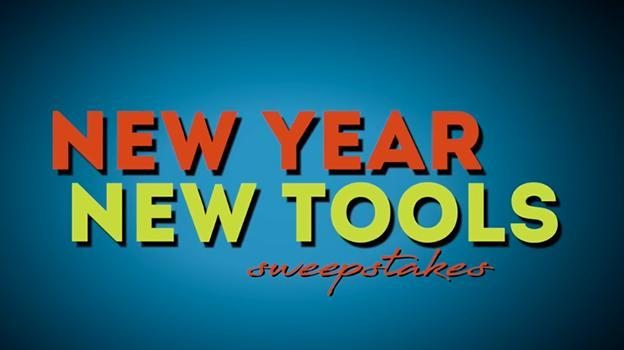 New Year New Tools Sweepstakes