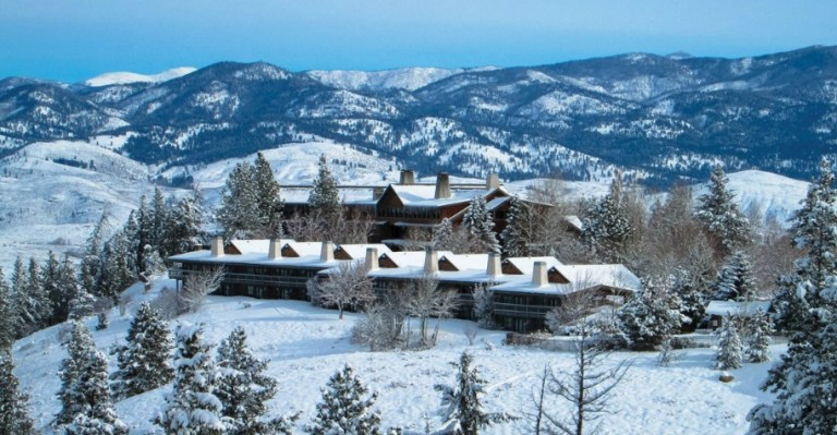 Perks Sun Mountain Lodge Winter Getaway Contest