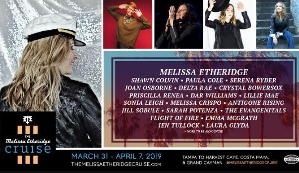 Tunespeak Melissa Etheridge Cruise Sweepstakes