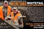 Buckmasters Montana Whitetail Dream Hunt Giveaway