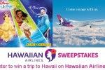 Disney On Ice and Hawaiian Airlines Getaway Sweepstakes