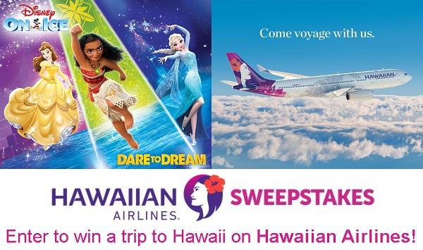 Disney On Ice and Hawaiian Airlines Getaway Sweepstakes