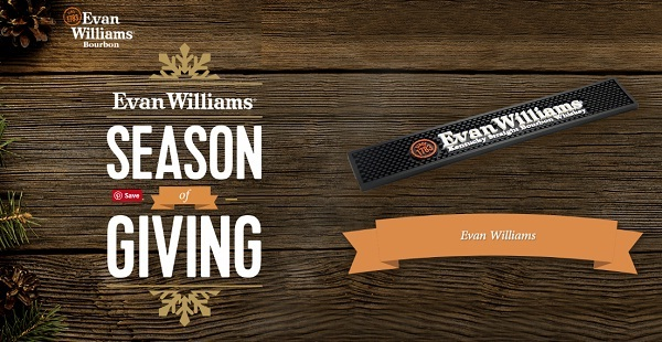 Evan Williams Season of Giving Sweepstakes 2018