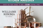 Foodnetwork Williams Sonoma Kitchen Makeover Sweepstakes