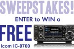 Icom IC-9700 Sweepstakes