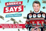 GSNTV America Says Holiday Game Sweepstakes