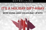 Maybelline Holiday Matte Liquid Lipstick Sweepstakes