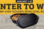 Camp Chef Golden Spike Contest