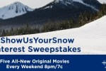 Show Us Your Snow Pinterest Sweepstakes