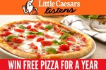 Little Caesars Listens Rewards Sweepstakes