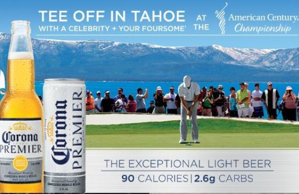 Corona Premier Golf Sweepstakes and Instant Win Game