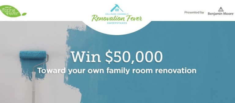Hallmark Channel Renovation Fever Sweepstakes
