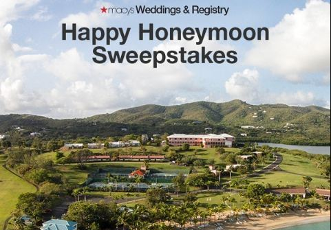 Macy's Wedding Registry Happy Honeymoon Sweepstakes