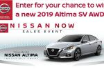 Nissan Private Offer Sales Event Sweepstakes