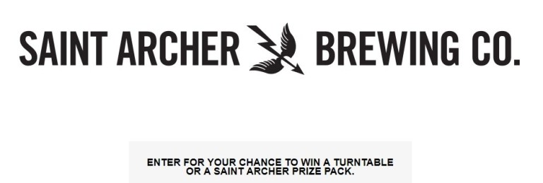 Saint Archer Hazy IPA Instant Win Game Sweepstakes