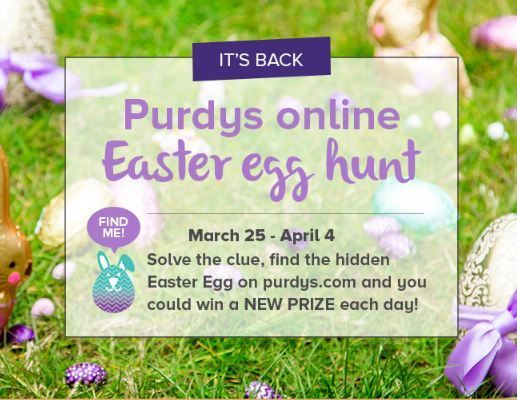 Purdys Online Easter Egg Hunt Contest