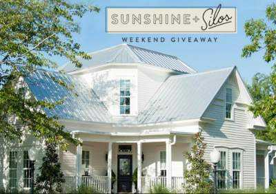 Magnolia Sunshine Silos Weekend Giveaway