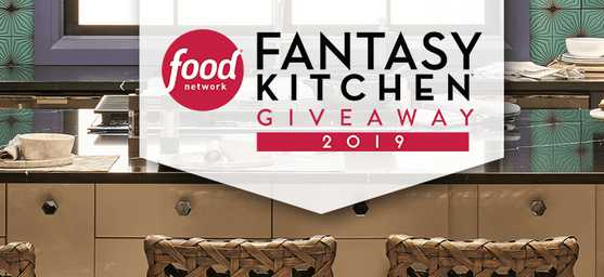 Food Network Fantasy Kitchen Giveaway Sweepstakes