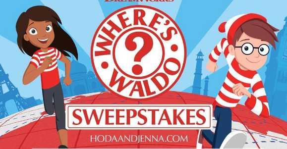 Today Show Hoda and Jenna Where's Waldo Sweepstakes