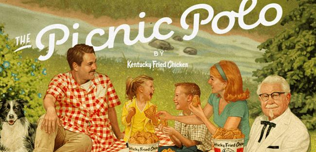 KFC Picnic Polo T-Shirt Giveaway