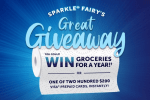 Sparkle Fairy's Grocery Sweepstakes 2019