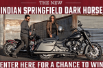 Indian Motorcycle Giveaway 2019