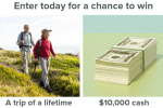 Win $10000 Cash Giveaway 2019