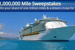 United Cruise Mile Sweepstakes: Win 1,000,000 Mile