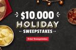 Tasty Rewards Holiday Sweepstakes 2019