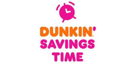 Dunkin Savings Time Sweepstakes