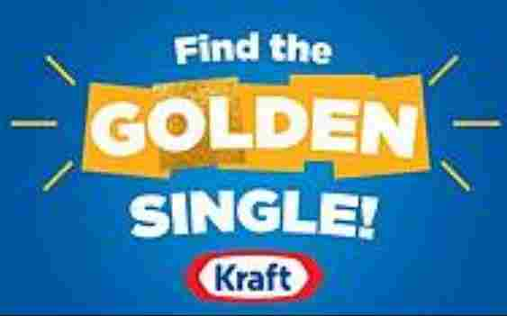 Kraft Golden Singles Instant Win Game Sweepstakes