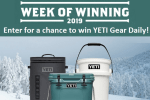 Yeti Week of Winning Sweepstakes