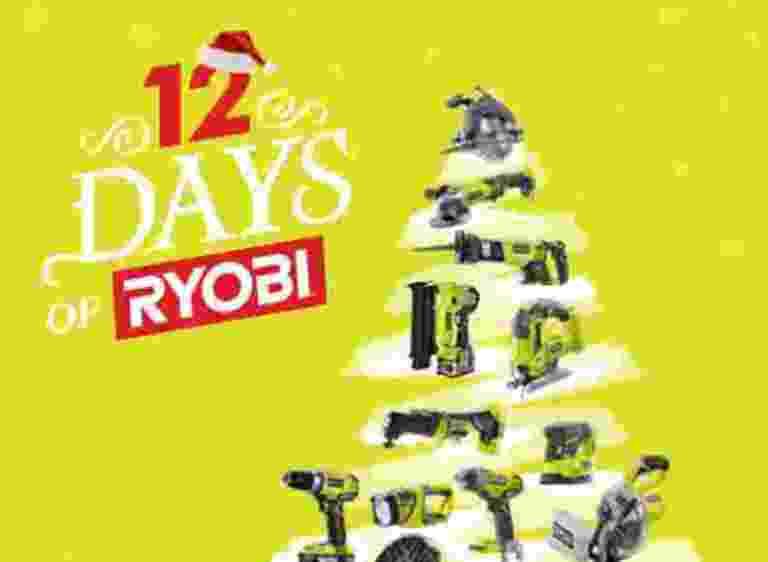 12 Days of Ryobi Contest