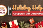 Easy Home Meals Holiday Helpers Giveaway 2019