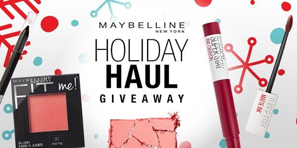 Maybelline Holiday Sweepstakes