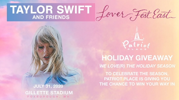 Patriot Place Taylor Swift Ticket Sweepstakes