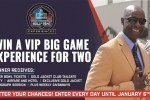 GateHouse Media Pro Football hall of Fame VIP Big Game Sweepstakes