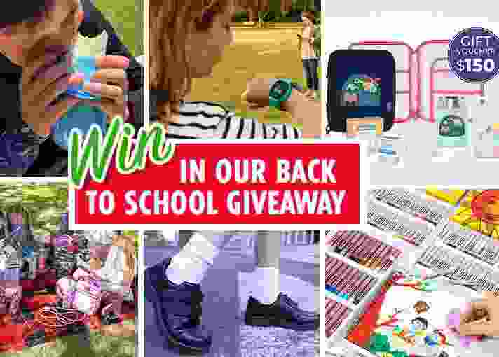 Mum Central Back to School Giveaway