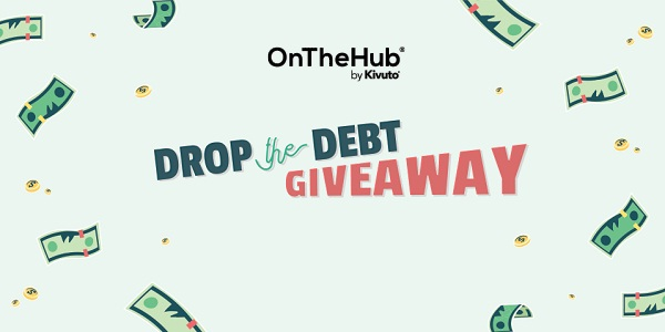 Onthehub.com Drop the Debt Giveaway 2020