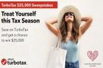 TurboTax $25,000 Sweepstakes 2020