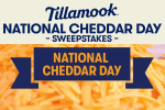 Tillamook National Cheddar Day Sweepstakes 2020